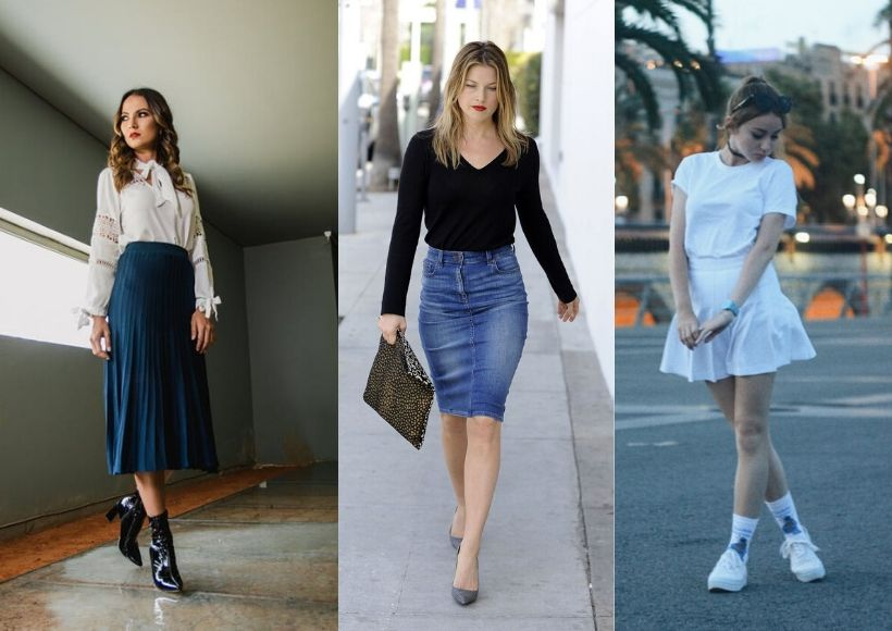 type of skirts