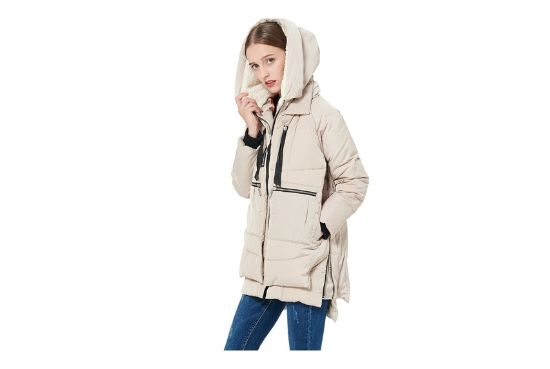 Orolay Women's Thickened Jacket With Hood