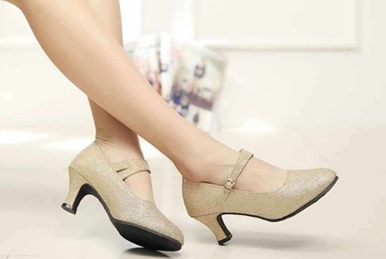 The tapered heel