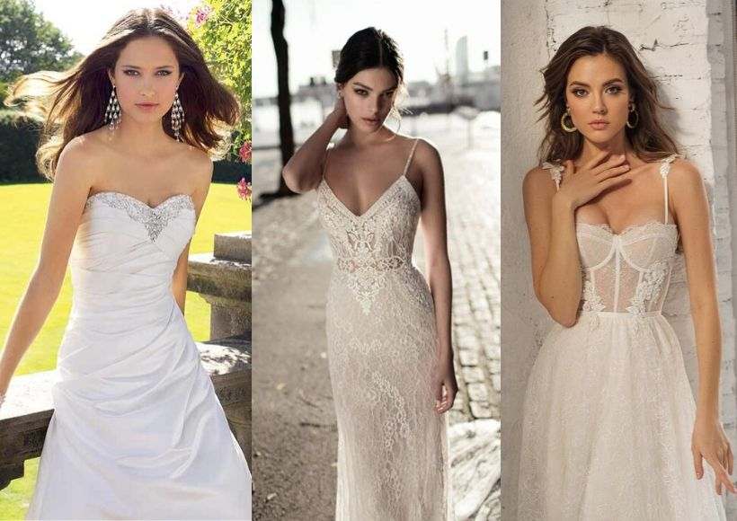 Sexy Type Beach Wedding Dresses