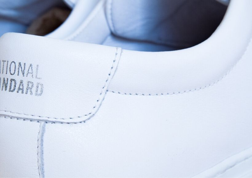White Sneakers Leather