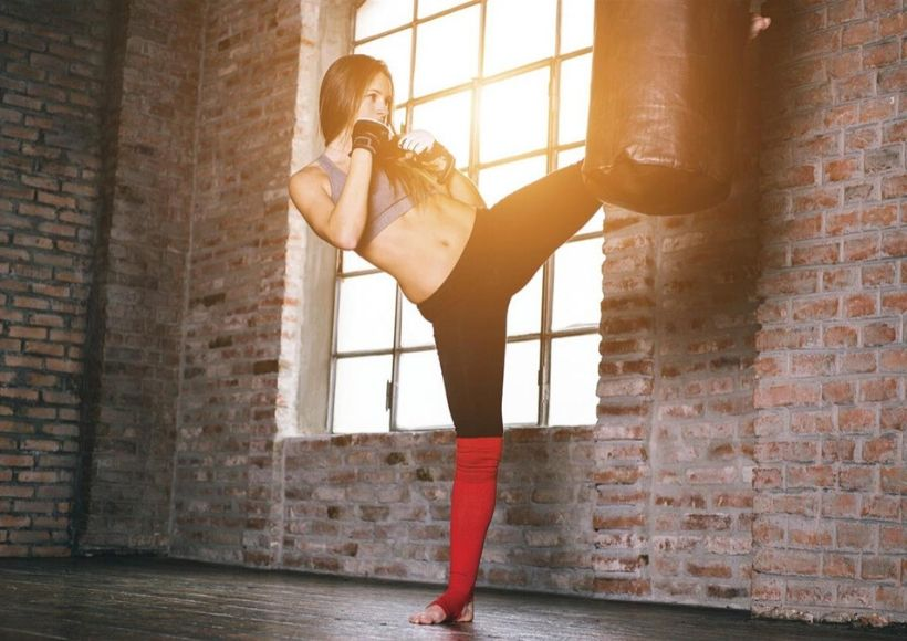 burn fat with boxing