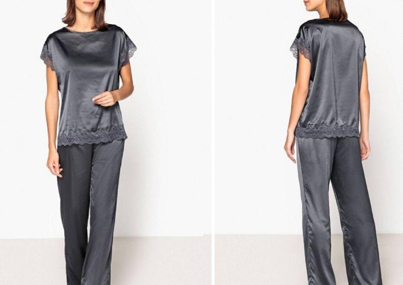 Lace And Satin Pyjamas