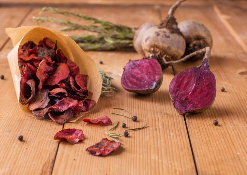 Dried Beetroot Homemade Blush