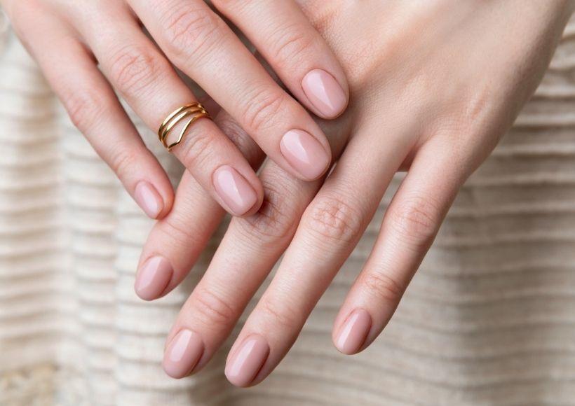 pink or nude nail polish