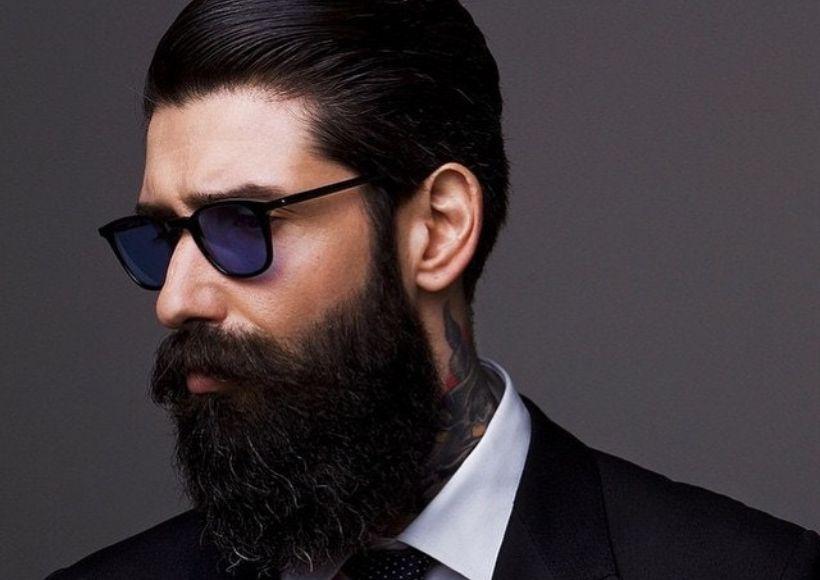 Retouch the beard