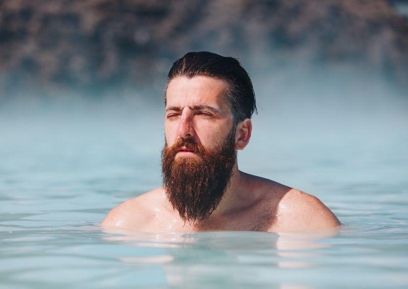 beard clean