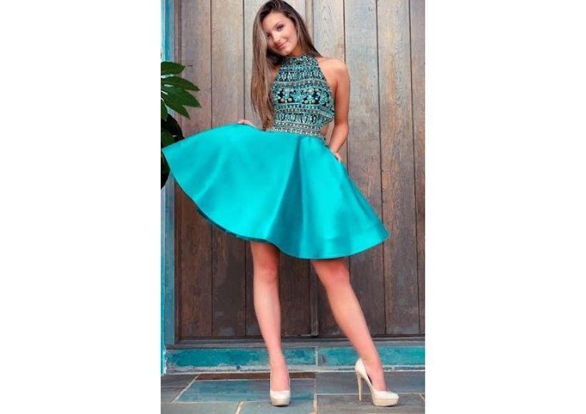 Line Prom Dresses